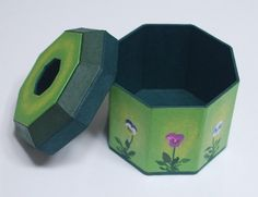Tea Box Toilet Paper Roll Cover Tissue Cover by koreanpaperart7