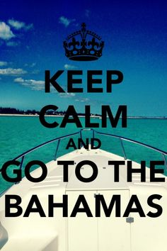 The Bahamas are so amazing!