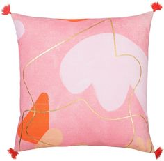 Evolution Coral Party Cushion