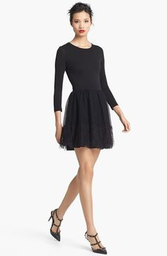 RED Valentino Point d'Esprit Dress available at #Nordstrom