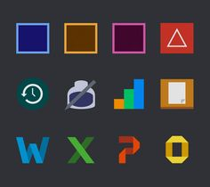 Minimal Mac icons