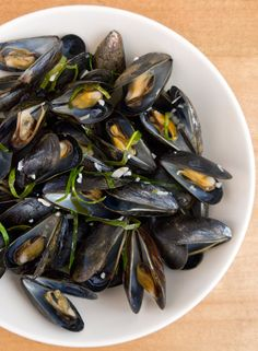 Flex your mussels.  White-Wine Steamed Mussels with Lime Leaves via POPSUGAR Food.