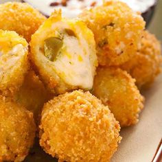 Jalapeno Cheese Fritters