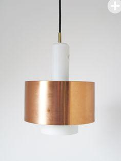 FOG & Morup RONDA | Jo Hammerborg |danish modern light | copper light|  midcentury modern interior 60s | yourhomeplus.de