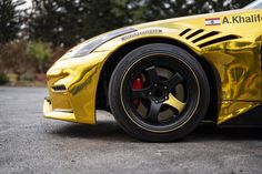 close-up of our @rovelution 350z drift car🔥 #roveloil #hankooktires #goldwrap #driftcar #350Z Drifting Cars, Photo And Video, Vehicles, Instagram, Car, Vehicle, Tools