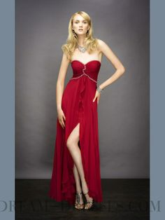 red prom dress sweetheart korean