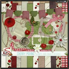 Cherry Picking full kit freebie from Snips and Snails Designs //downloaded 4/5/12