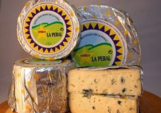 Spanish cheese from Asturias. La Peral