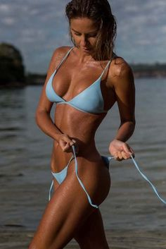 3f6ba97ce34 Women's Blueberry Bikini Top - St. Tropez by The Hessian Collection on  Jetset Times SHOP