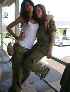 25 images of the hottest Israeli Defense Forces women who look just a good in fatigues as they do in bikinis! Idf Women, Military Women, Israeli Female Soldiers, Israeli Girls, Military Girl, Girls Uniforms, Beautiful Women, Poses, Lady
