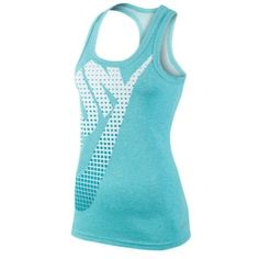 Nike Dri-Fit Cotton Run Swoosh Tank - Women's #Eastbay