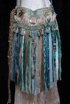 Handmade Gypsy Fringe Boho Bag Hippie Ibiza Lace Birds Festival Purse Pursuation #Handmade #ShoulderBag