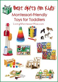 When you need toys for toddlers, Montessori-friendly toys will give your child lots of open-ended play and learning ... and will never become outdated. This post includes the Montessori Monday linky collection along with links to gift guides from 80+ bloggers.