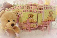 Memoria em folha de Scrap: Festa das Ursinhas - Cecília 1 aninho