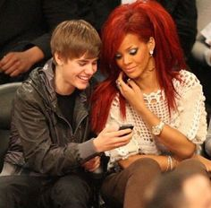Rihanna! Her red hair was the best
