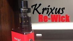 Rewicking the Krixus Tank by HorizonTech! Coffee Maker, Kitchen Appliances, Facebook, Twitter, Board, Shoes, Coffee Maker Machine, Diy Kitchen Appliances, Coffee Percolator