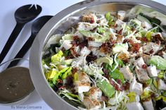 Sweet Fix: Chicken and Bacon Salad with Coriander & Avocado Vinaigrette