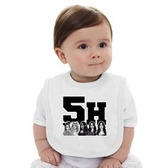 5H Fifth Harmony Baby Bib