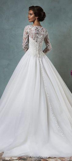 Amelia Sposa 2016 Wedding Dresses - Part 2 - Belle The Magazine 2016 Wedding Dresses, Wedding Attire, Bridal Dresses, Wedding Gowns, Prom Dresses, Wedding Gallery, Amelia Sposa, Beautiful Gowns, Dream Dress