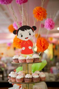 Modern Asian Party Planning Ideas Supplies Idea Cake Decorations Mulan