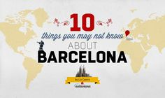 """The infographic titled """"Things you may not know about Barcelona"""" give some cool info about Barcelona that you didn't know before."""