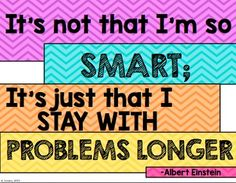 Growth Mindset Posters by To the Square Inch- Kate Bing Coners Study Skills, Life Skills, Growth Mindset Posters, Learning Patience, Math Classroom, Classroom Ideas, Apple Classroom, Instructional Coaching, School Motivation