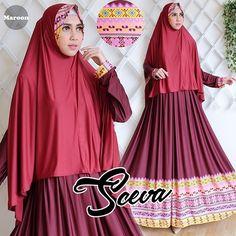 sceva maroon Rp110rb,bhn jersey, sleting depan, jilbab tanpa pad, ld 95 smp 105, lbr bwh 300, pjg 139cm, berat 800gram  contact us  FB fanpage: Toko Alyla  line@: @alylagamis  WA: 0812-8045-6905    toko online baju muslim  gamis murah  hijab murah  supplier hijab  konveksi gamis  agen jilbab