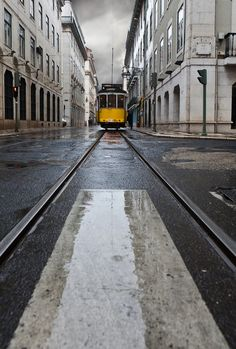 "Lisboa, Lisbon   Portugal   Tram 28 was selected by ""Rough Guide to the World"" as one of the 1000 most important travel experiences in the world."