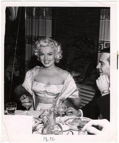Weegee - Marilyn Monroe (1955)