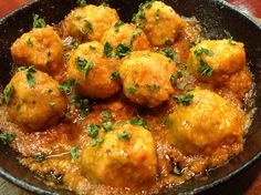 Mini-Meatballs in Spicy Arabiatta Sauce