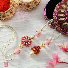 Leave your Bhaiya and Bhabhi awestruck with a beautiful Rakhi set @ Raksha Bandhan Quotes, Raksha Bandhan Images, Rakhi Images, Rakhi Bracelet, Handmade Rakhi Designs, Rakhi Making, Rakhi Online, Happy Rakshabandhan, Silk Thread Bangles