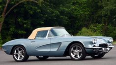 1962 Chevrolet Corvette Convertible LS2, 6-Speed presented as lot S127 at St. Charles, IL 2012 - image1