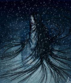 yuki - onna the snow woman