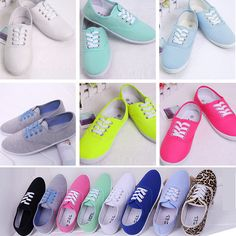 18 Candy Color Plus Size 2014 flat shoes lazy canvas espadrilles Casual shoes Women's low breathable Shoes For women sneakers US $12.85