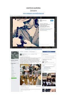 EDIFÍCIO AURORA 2015/2016 Planejamento de conteúdo para Mídias Sociais.  www.instagram.com/edificioaurora/ facebook.com/edificioaurora