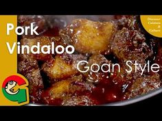 Vindaloo was born in Goa sometime in the or century after the Portuguese set up colony there. The word vindaloo comes from the Portuguese recipe 'v. Goan Recipes, Indian Food Recipes, Cooking Recipes, Bangladeshi Food, Bengali Food, Goan Food, Pork Curry, Vindaloo, Chutney Recipes