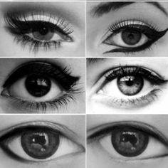 Different eye liner looks!