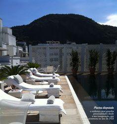 Comfortable décor in the garden. #Copacabana #Palace #interior #design #decor #casadevalentina