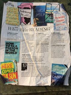 Book list Marie Claire