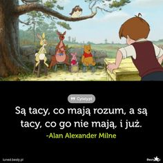BESTY.pl - Niektórzy mają rozum Bitch Quotes, Life Quotes, Cinema Quotes, Polish Memes, Love Me Quotes, Typography Quotes, Disney Quotes, Peace And Love, Book Worms