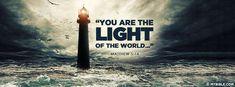 Matthew 5:14 NKJV - The Light Of The World - Facebook Cover Photo