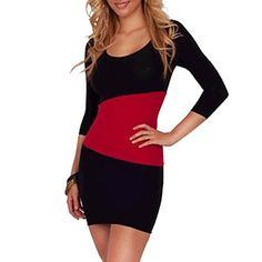 Women's Fashion Clubwear Party Mini Dress – USD $ 9.08