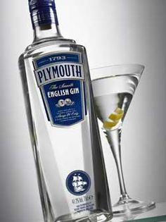 Plymouth Gin: Plymouth is both a brand and a style of gin.  It has been around over 300 years and is the perfect gin for a martini.  British Royal Navy ships used to set sail with this gin in tow.