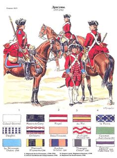 SOLDIERS- Rousselot: SYW- France: (#39) French Soldiers 1757-1762, by Lucien Rousselot.