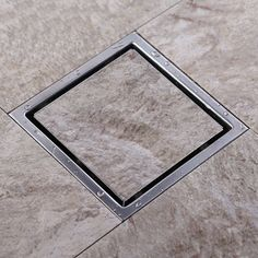check price free shipping tile insert square floor waste grates bathroom shower drain 110 x 110 or #square #shower #drain