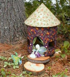 fairy cottage   Fairy Cottage Kit or Pattern - The Silver Penny