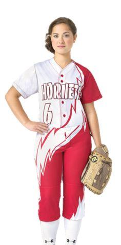Teamwork Pro Sphere Custom Jersey and Pant  #softball #fastpitch #custom #women…