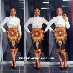 Items similar to Gloria Skirt on Etsy African Inspired Fashion, African Print Fashion, Africa Fashion, Ethnic Fashion, Fashion Prints, Fashion Design, Fashion Styles, Ankara Fashion, African Attire