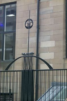 The Glasgow School of Art (167 Renfrew Street, Glasgow) is probably the best known architectural work of Charles Rennie Mackintosh. It was built in two phases from 1897-1899 and 1907-1909 after Mackintosh had won the competition for the design of the building in 1896.