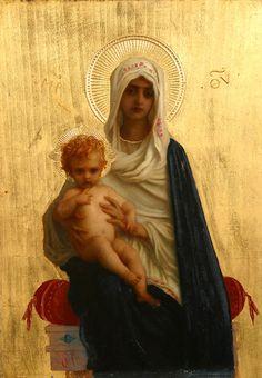 Ernest Hebert, La Vierge de la Délivrance